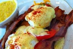 Mary's Gourmet Diner Eggs Benedict