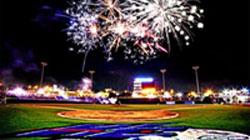 Winston-Salem Dash Baseball Fireworks