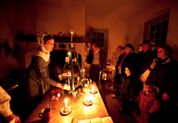 Old Salem Candlelight Tours
