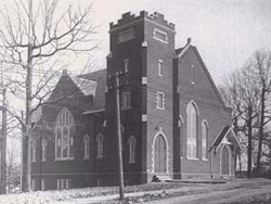 Trinity Moravian Church Built in 1913 in Winston-Salem