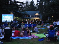 Reynolda House Outside Movie