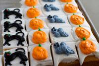 Dewey's Bakery Halloween Cake Squares