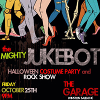 The Garage Halloween Party & Rock show