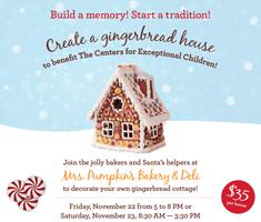 Mrs. Pumpkin's Gingerbread House Workshop
