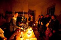Old Salem Candlelight tour