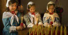 Moravian Candle Tea at Old Salem