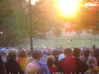 Easter Sunrise Service at Old Salem