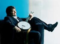 Bela Fleck with banjo