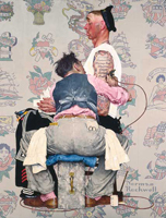 Norman Rockwell Tattoo Artist