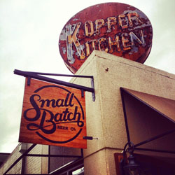 Small Batch Beer Co. Kopper Kitchen