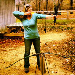 Archery at Camp Hanes