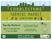 Cobblestone Popup Farmers Market