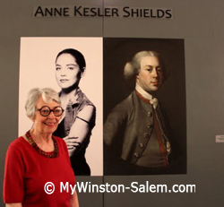 female artist anne kesler shields