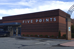 Five Points Restaurant, Winston-Salem, NC