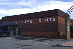 Five Points 5 restaurant menu