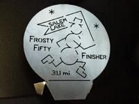 frosty fifty salem lake relay 25k 50k