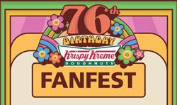 Krispy Kreme fanfest
