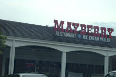 Mayberry Restaurant and ice cream parlor