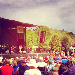 The Waybacks at Merlefest 2012