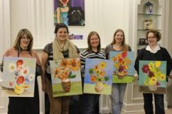 Merlot & VanGogh Painting Class