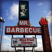 Mr. BBQ barbecue