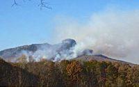 Pilot Mountain Fire