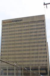 Reynolds American R.J.R. Tobacco building architecture Winston-Salem