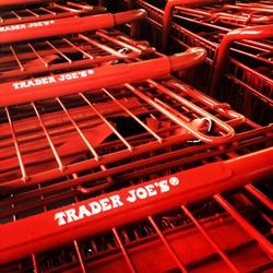 Trader Joe's carts