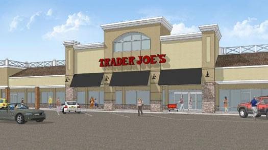 Trader Joe's Winston Salem Store Rendering at Thruway