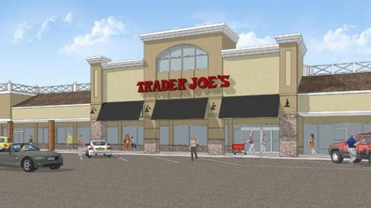 Trader Joe's Winston Salem Store Rendering at Thruway