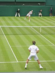 Breakfast at Wimbledon