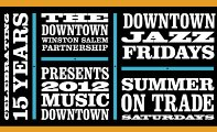 Downtown Winston Salem Summer on Trade Music
