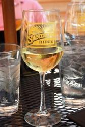 Sanders Ridge Winery Glass of Wine