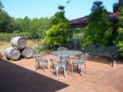 Westbend Vineyard Patio Yadkin Valley NC