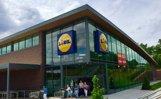 Lidl Winston-Salem outside entrance