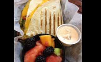 Big Eat quesadilla special